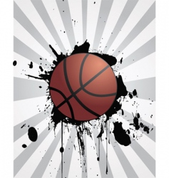 sporting background vector image