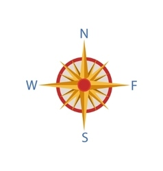 Windrose Portuguese Famous Symbol vector