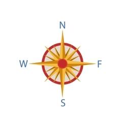 Windrose Portuguese Famous Symbol vector image