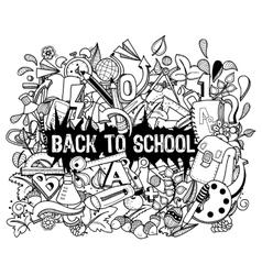 school4 vector image