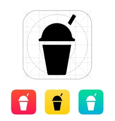 Takeaway cup icon vector image vector image