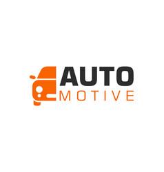 automotive logo vehicle icon transportation logo vector image