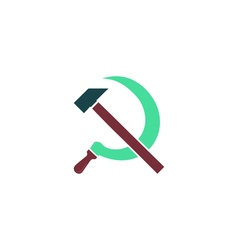 Hammer sickle Icon vector