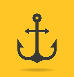icon of Anchor vector image