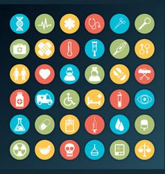 Medical icons 36 set vector