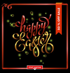 poster for happy easter 15 vector image
