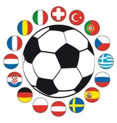 Soccer bal vector