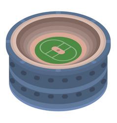 sport arena icon isometric style vector image