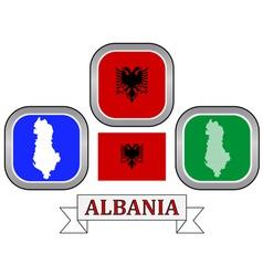 Symbol of Albania vector