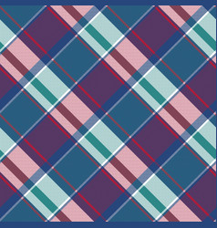 abstract asymmetrical check plaid seamless pattern vector image