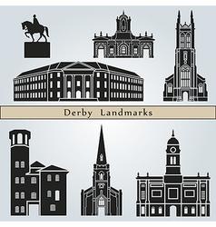 derlandmarks and monuments vector image