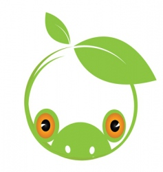 environmental frog vector image