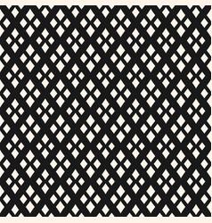 geometric texture with rhombuses diamonds vector image