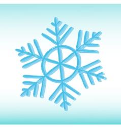 Grange snowflake vector