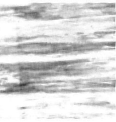 grunge halftone texture vector image