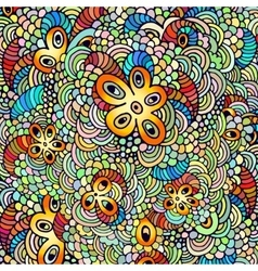 Hand drawn psychedelic vector image