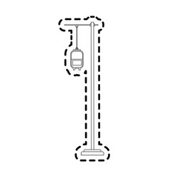 Iv bag icon image vector