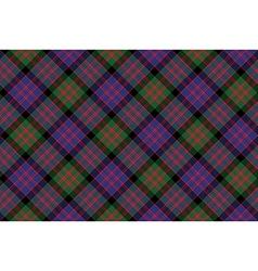 Macdonald tartan kilt fabric diagonal texture vector