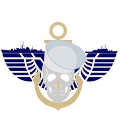 Navy vector image