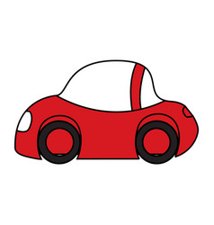 plain car icon vector image