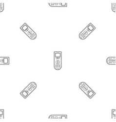 remote control conditioner pattern seamless vector image
