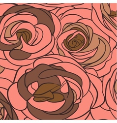 Roses background vector image