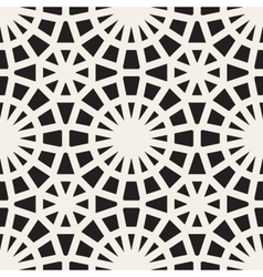 Seamless Black and White Lace Ornamental vector