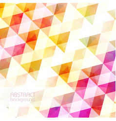 light clean geometric background vector image vector image