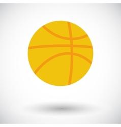 Basketball icon vector image