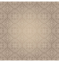 Light vintage seamless pattern vector image