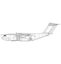 Airbus a400m atlas vector