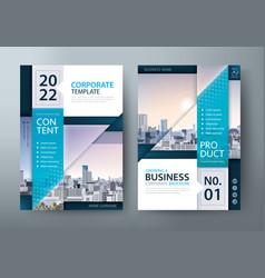Brochure flyer book cover templates vector