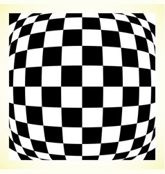 checkered pattern chess board checker board with vector image