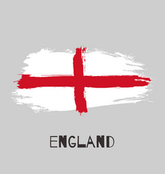 england watercolor national country flag icon vector image