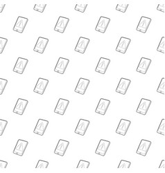 Gadget primary attention icon outline style vector