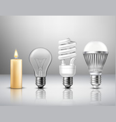 Light Evolution Concept vector image