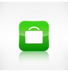 Portfolio web icon Application button vector image