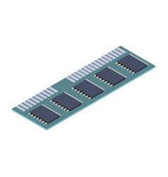 Random access memory vector