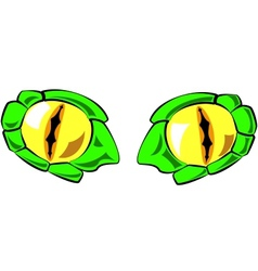 Snake eyes - in color vector
