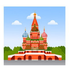 Staint basil cathedral vector