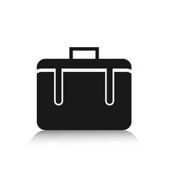 Suitcase icon for application or website vector