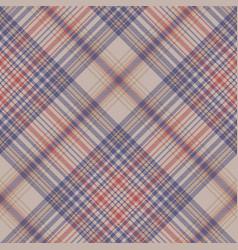 Tartan clan check fabric texture seamless pattern vector