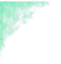 Teal green watercolor abstract background vector