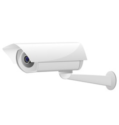 Video surveillance camera 02 vector