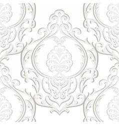 Vintage Baroque Damask Pattern vector