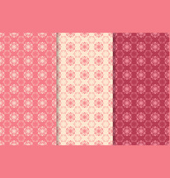 floral seamless pattern abstract background vector image vector image
