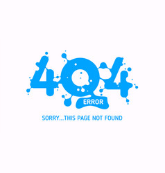 404 liquid error vector
