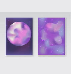abstract pale purple space backgrounds vector image