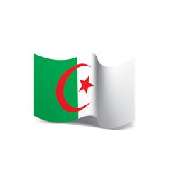 algeria flag vector image