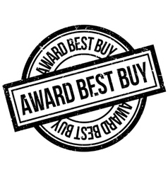 Award Best Buy rubber stamp vector image